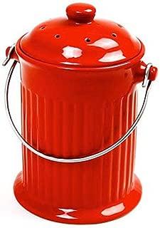 Best red kitchen bins Reviews