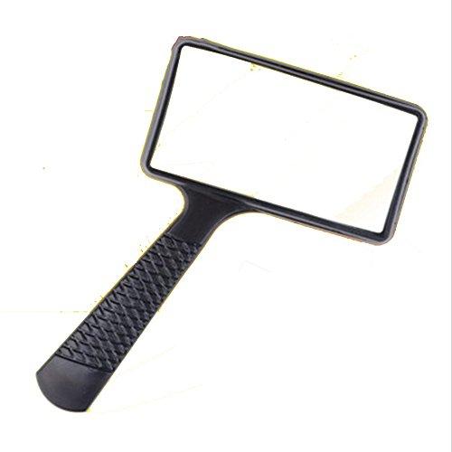 Magnifier Nan Lupa Cuadrada HD 10 Veces Anciano Lectura portátil niños Ancianos Lupa de Lectura