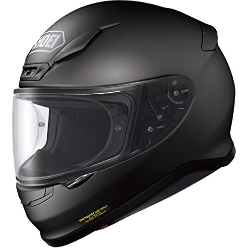 Shoei Men's Rf-1200 Full Face Motorcycle Helmet (Large, Matte Black)