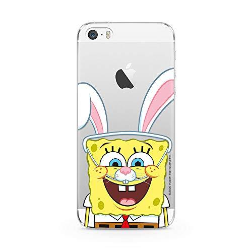 Ert Group NPCSBOB6026 Custodia per Cellulare SpongeBob 014 iPhone 5/5S/SE