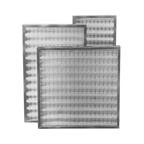 Filtro cella ondulata sintetica doppia rete acciaio spessore 48 mm 592x592