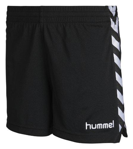 Hummel Damen Shorts Stay Authentic Poly, black, XS, 10-628-2001