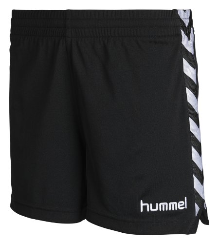 Hummel Damen Shorts Stay Authentic Poly, black, XS, 10-628-2001