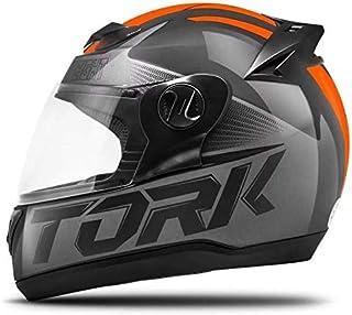 Pro Tork Capacete Evolution G7 60 Preto/Laranja