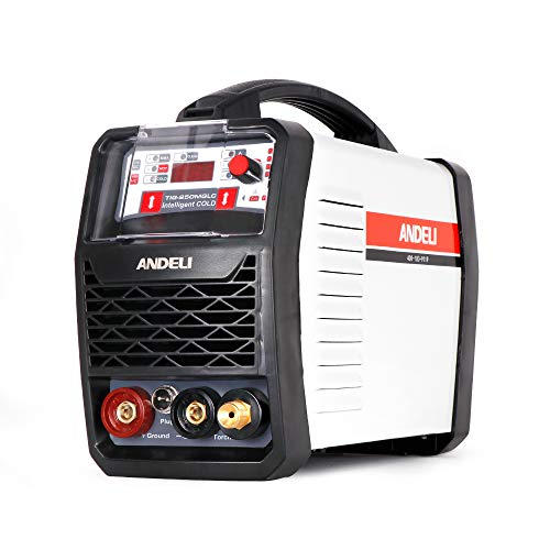 ANDELI TIG Welder with CLEAN COLD & MMA 4 in 1...