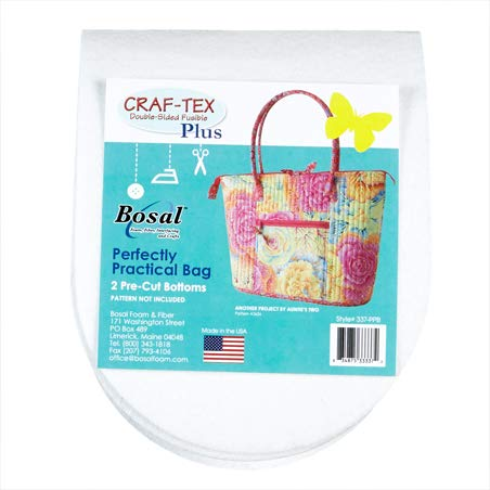 Bosal Craf-Tex Double Sided Fusible 20'' Foam Stabilizer White