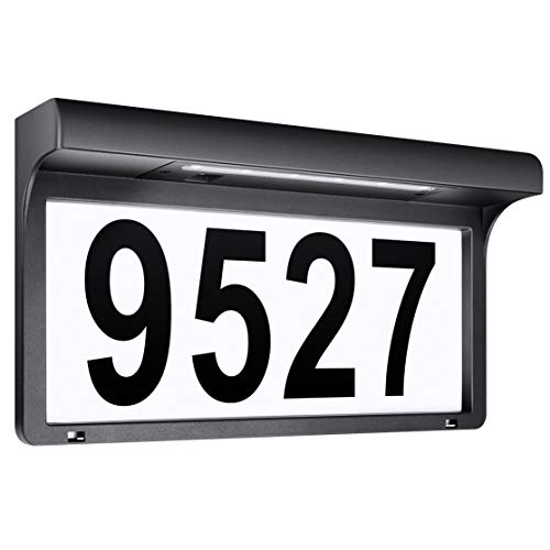 10 Best Solar Powered Address Numbers Sign Lights Reviews 1