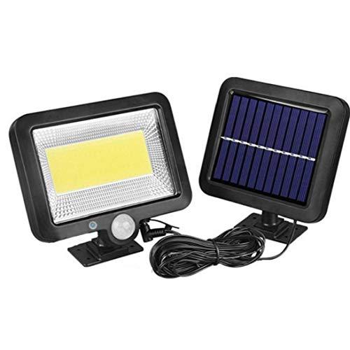 Sensor de la lámpara solar luces de la calle Muro de 100 LED 30W al aire libre Powered impermeable recargable inalámbrica para Navidad Jardín Jardín Luces Suministros