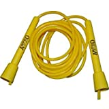 Ampro Adjustable Speed Skipping Rope (Yellow)