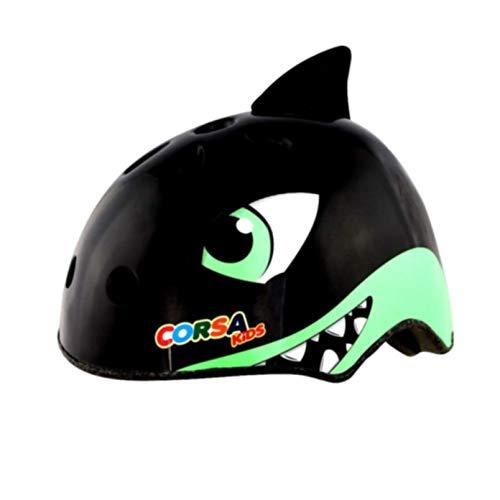 Braceletlxy Casco de Bicicleta para niños, Casco Deportivo con Forma de tiburón...