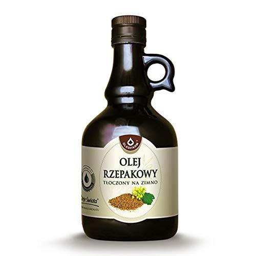 Aceite de colza prensado en frío Aceites del mundo 500ml Oleofarm