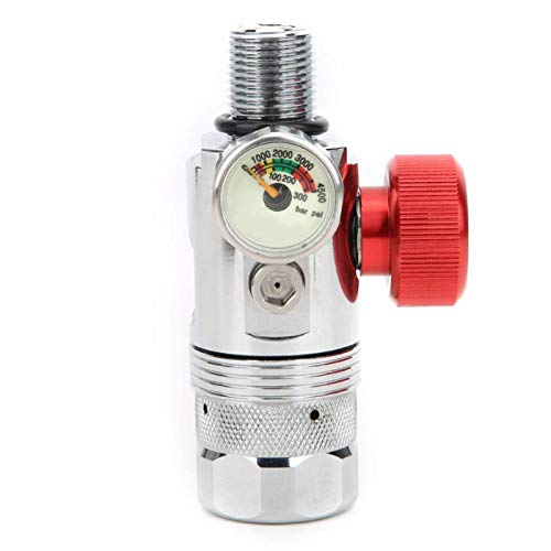 KUIDAMOS Válvula de Cilindro de oxígeno compacta T_S5000 de Primer Nivel de 10x7x7cm para Buceo Submarino