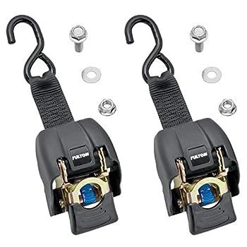 Fulton 2060266 2  x 43  Brass Transom Retractable Ratchet Tie Down