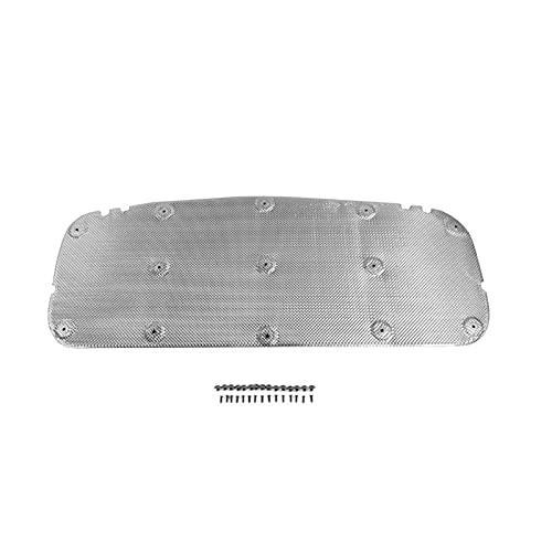 YUYAOYAO Sound Isolamento di Calore Cotton Motore per Auto Cappa Isolamento Termico Sound Deadener Pad Adatto per Suzuki Fit per Jimny JB74 2019+ Accessori (Color Name : Silver)