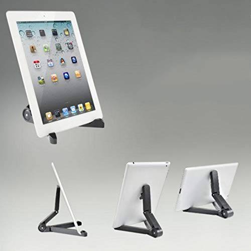fgjhfghfjghj Foldable Adjustable Engineering Plastic Multi Function Laptop Stand Holder Traveling for Table Laptop Desktop Computer