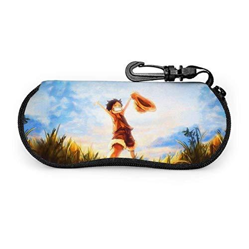 Mi-ni-ons - Funda para gafas de sol (neopreno, ultra suave, con cremallera y cremallera)