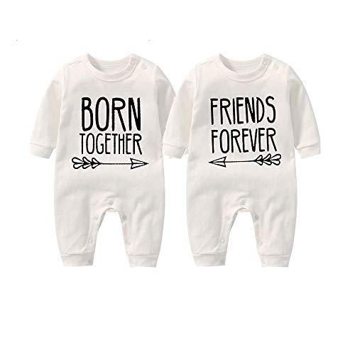 culbutomind Beste Freunde Für Immer Fun Baby-Strampler Baby Geschenke Geburt Erstausstattung(white1 4-6 Months)