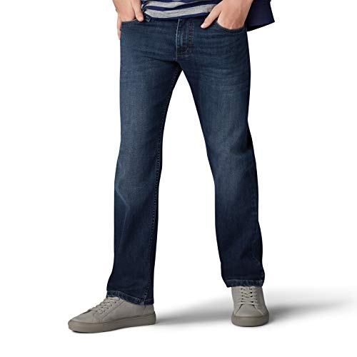 Lee Boys' Big Performance Series Extreme Comfort Straight Fit Jean, Oliver, 18 Husky