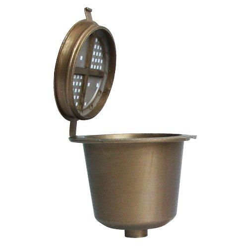 ScanPart Coffeeduck Espresso - Cápsulas reutilizables para máquinas Nespresso (3 cápsulas)