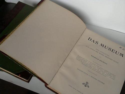 Das Museum. Aufsätze. Bände 1-8 und vermischte Aufsätze. 3 Bände