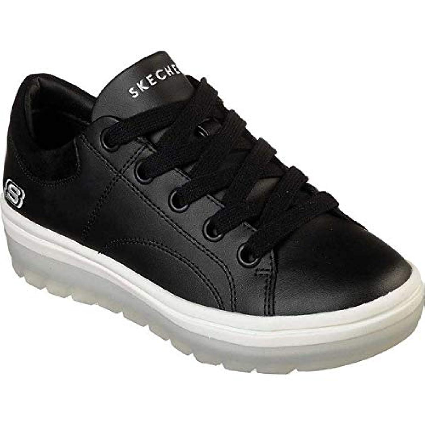 民族主義輝くプラットフォーム[スケッチャーズ] レディース スニーカー Street Cleats C-thr-U Sneaker [並行輸入品]