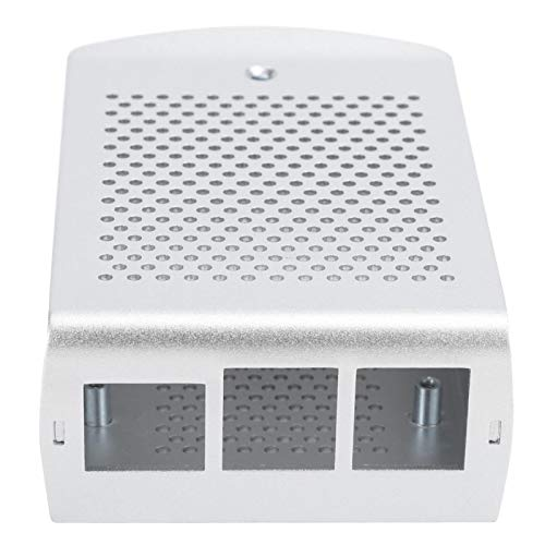 Cooling Box Case Fast Heat Dissipate Cooling Protective Box Protective Case Strong and Durable Case Aluminum Alloy Wall‑mounted Compatible with Pi 3 B+ 2B