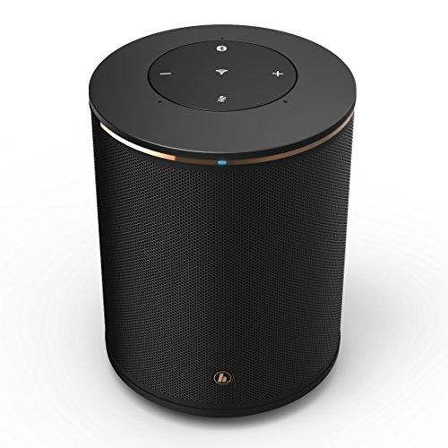Hama Altoparlante smart (bluetooth, musica in streaming: tramite WiFi e UPnP, speaker SIRIUM1400ABT  ad es. per smartphone tablet PC) nero