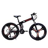 Hergoto 26 inch Folding Mountain Bike...