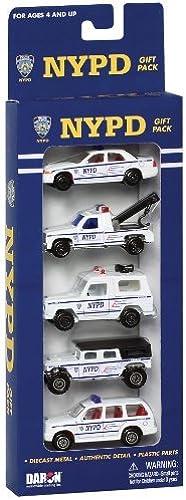 bajo precio Daron Nypd Vehicle Gift Gift Gift Set, 5-Piece by Daron  respuestas rápidas