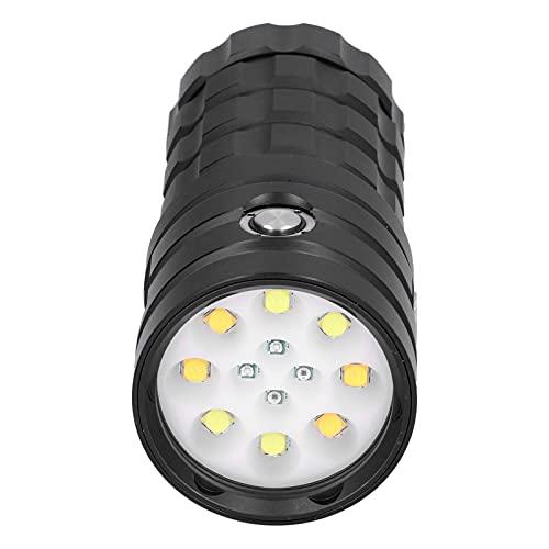 Unterwasser-Taschenlampe, bequem zu...