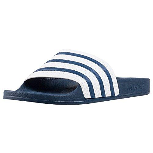 adidas Adilette, Zapatos de playa y piscina Unisex adulto, Azul (Adiblue/White/Adiblue), 43 EU