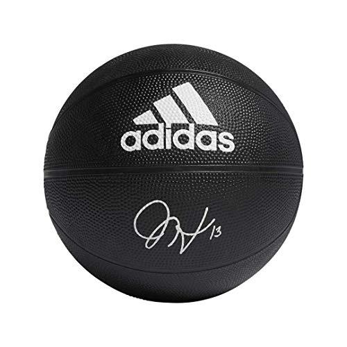 adidas James Harden Signature Basketball, Black, Size 7
