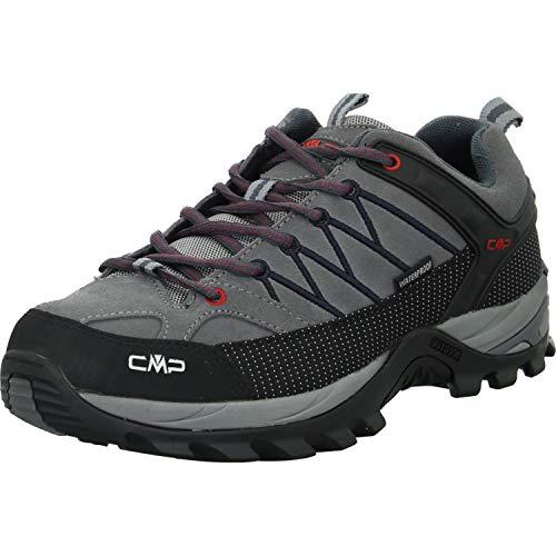 CMP Herren Trekking Schuhe Rigel Low 3Q13247 Graffite-Antracite 43