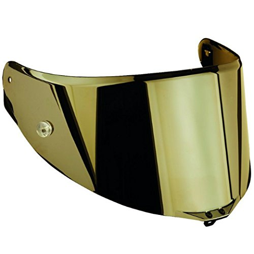 AGV Pista/Corsa Scratch Resistant Shield with Tear Off Posts (Iridium Gold)