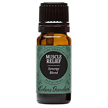 Edens Garden Muscle Relief Essential Oil Synergy Blend 100% Pure Therapeutic Grade  Massage & Pain  10 ml
