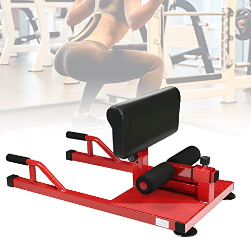 ALEXTREME Squat Machine, Sissy Squat Machine, 3-in-1 Core Strenth Training Equipment - Multifunctional Abs Workout Push Up Deep Squat Leg Exercise for Home Gym Exercises Fitness