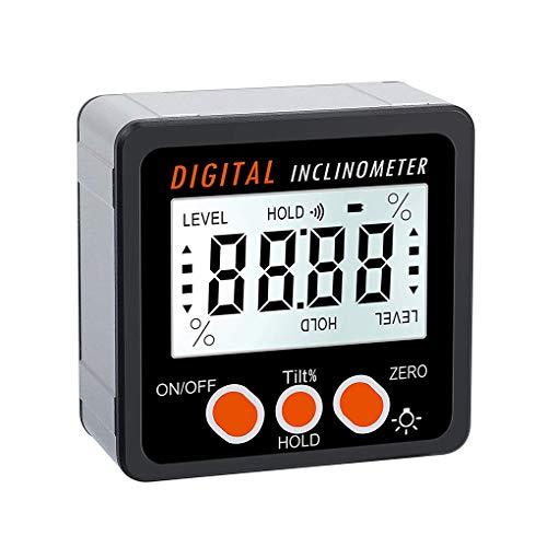 360 Grad-Winkel-Digital-Winkelmesser-Inklinationskompass Elektronische Bevel Box Winkelmesser Meter Messwerkzeug Magnetfuß