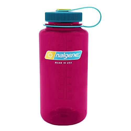 Nalgene Tritan Wide Mouth BPA-Free Water Bottle Eggplant, 32 oz