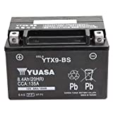 【Amazon.co.jp限定】 TAIWAN YUASA 【台湾ユアサ】 AGM-BIKE-BATTERY クロス付 YTX9-BS