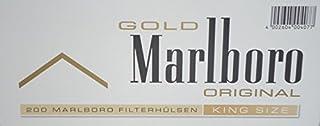 Marlboro Gold - Set de 1000 tubos con filtro para