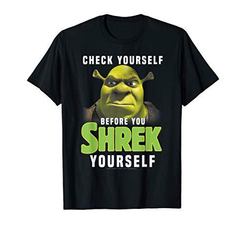 Shrek Check Yourself Before You Shrek Yourself T-Shirt