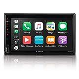"""Xzent X-522: Infotainer, 2 Din Mediencenter, Multimediasystem mit 17,1 cm / 6,75"""" Touchscreen, DAB+, Bluetooth, USB, Radio, Autoradio mit Apple CarPlay und Google Android Auto"""