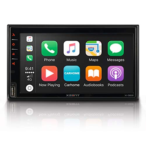 "Xzent X-522: Infotainer, 2 Din Mediencenter, Multimediasystem mit 17,1 cm / 6,75"" Touchscreen, DAB+, Bluetooth, USB, Radio, Autoradio mit Apple CarPlay und Google Android Auto"