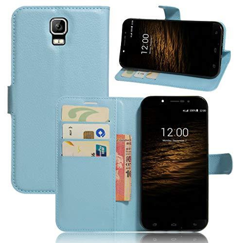 Litao-Case CN Hülle für UMI Rome hülle Flip Leder + TPU Silikon Fixierh Schutzhülle Case 5