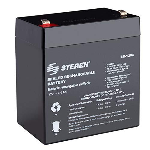 Steren Br-1204 Bateria Recargable Sellada Acido-Plomo 12V 4Ah