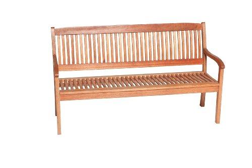 gartenmoebel-einkauf Gartenbank Maracaibo 3-sitzer, Eukalyptus Holz, FSC®-Zertifiziert