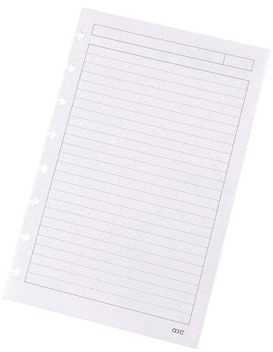 Refill-Papier liniert f.arc Spiralbuch weiß A5 100g 50 Blatt 22018