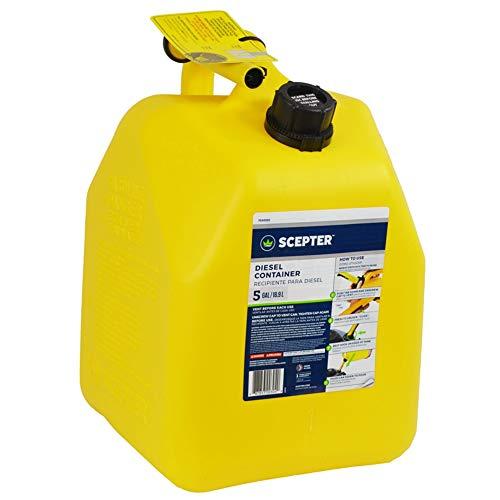 Scepter Fg4d511 Diesel Can, Yellow, 5 Gallon