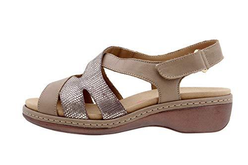Piesanto 8813 dames sandalen met uitneembare binnenzool