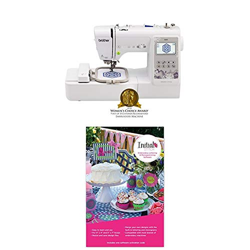 Best Deals! SE600 with Initial Stitch Embroidery Lettering & Monogramming Software
